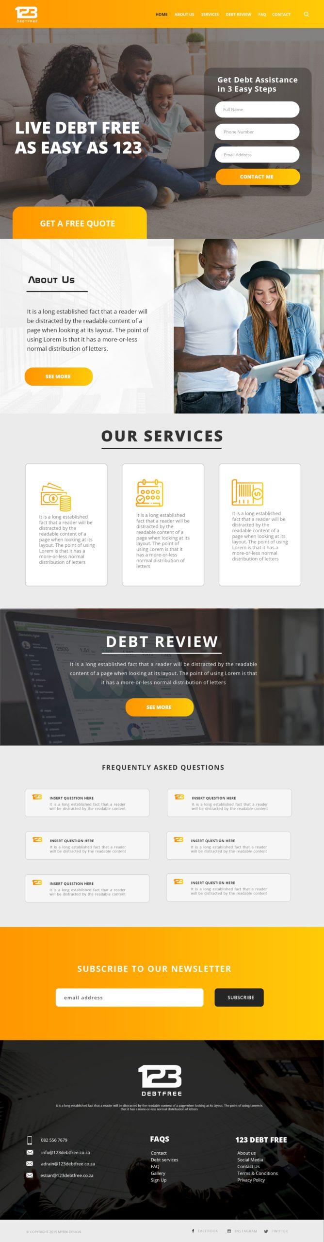 123-Debt-Free-Website-Mockup