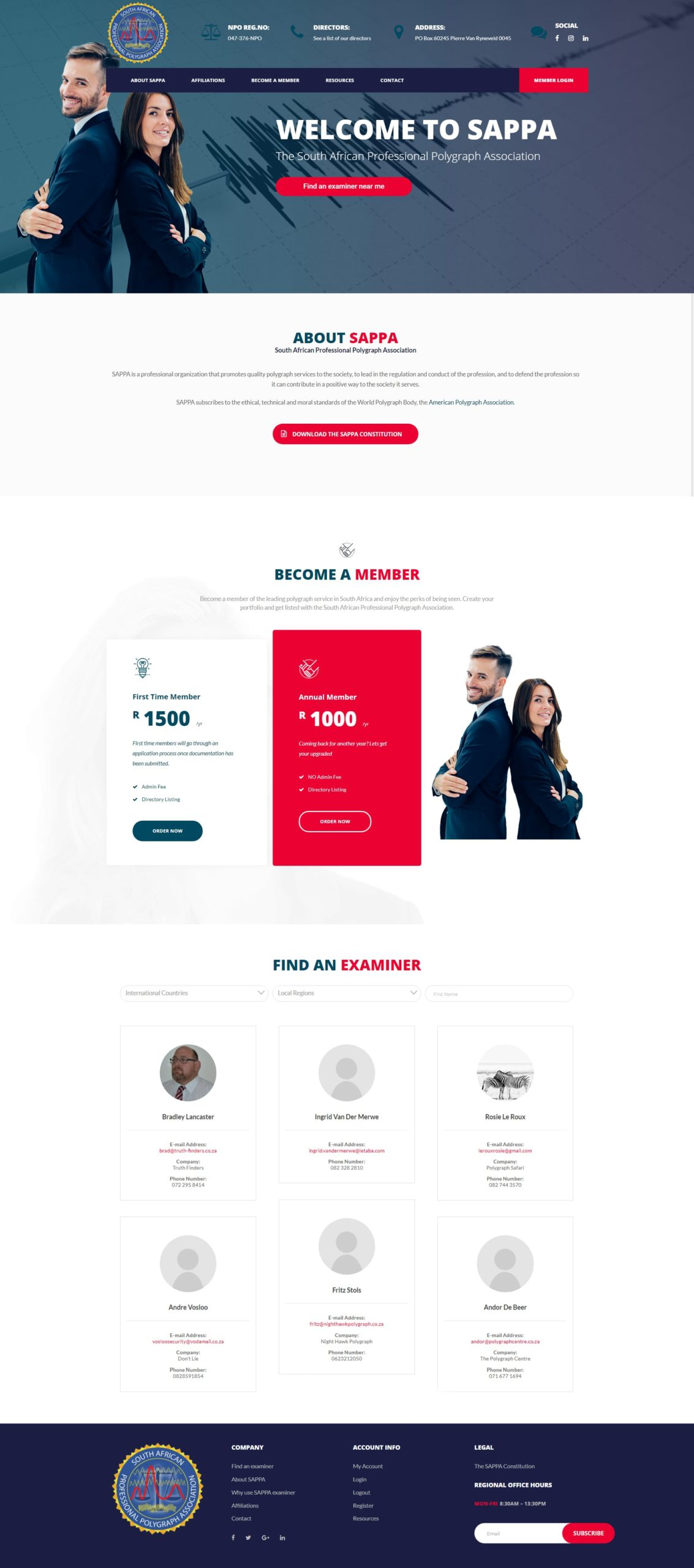 South-African-Polygraph-Professionals-Association-Website-Mockup